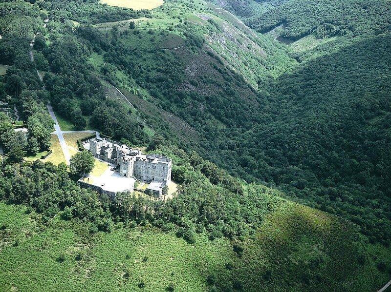 Замок Дрого, вид сверху