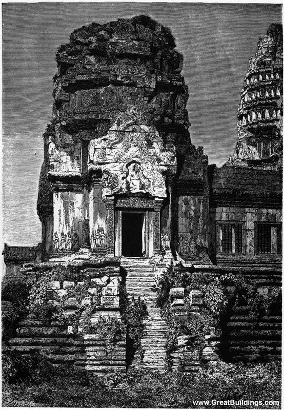 Боковая башня, Ангкор-Ват