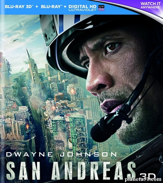 Разлом Сан-Андреас / San Andreas (2015/BDRip/HDRip)