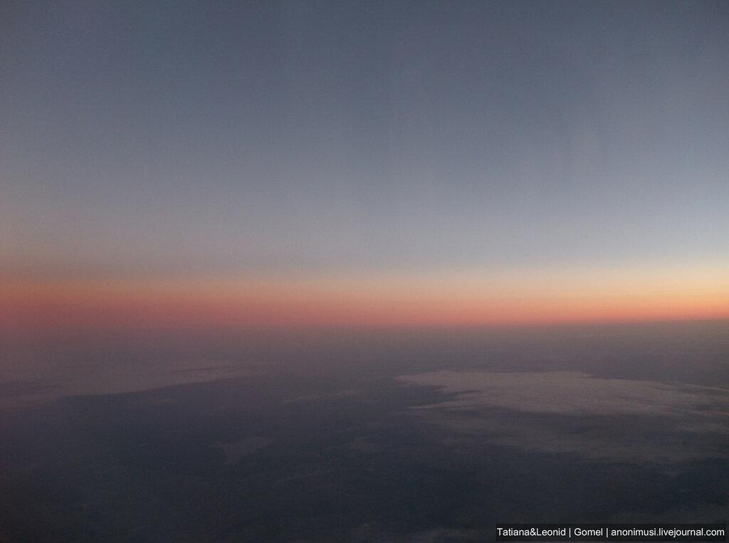 Рассвет в Альпах.  Италия