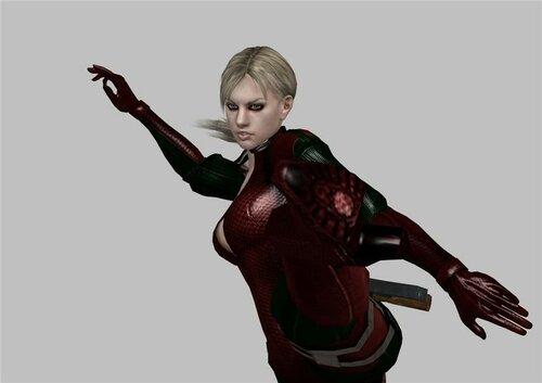Jill Battlesuit в красно-зелёном =3 0_11cef1_e44b61cf_L