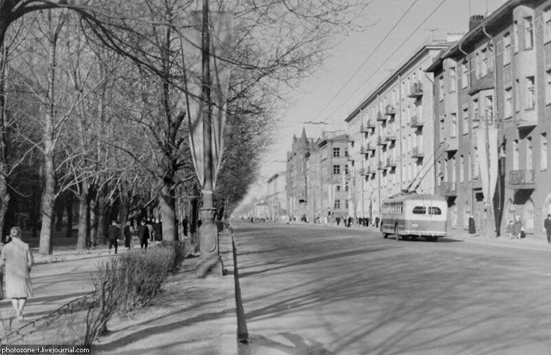 Петербург тогда и сейчас - Большой проспект Васильевского острова (В.О.)