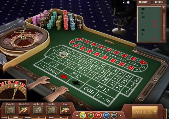 рулетка игра онлайн