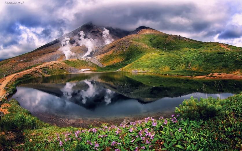 Отражение облаков
