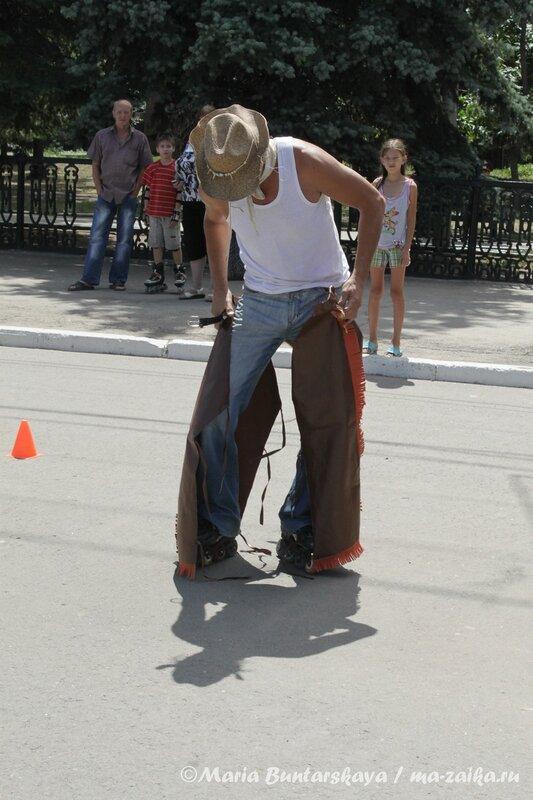 Фигурное катание на роликах, Саратов, 24 июня 2012 года