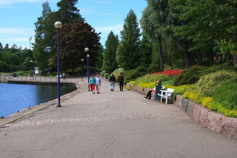 В парке Саппока