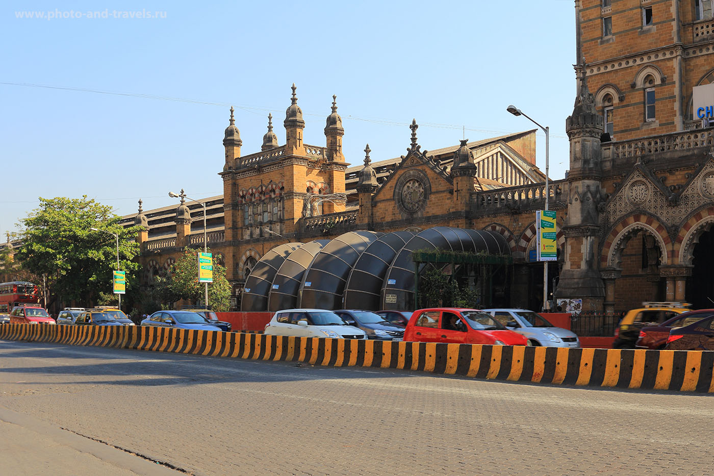 Фото 25. Вокзал Chattrapati Shivaji Terminus в Мумбаи. Рассказы о поездке в Индию.