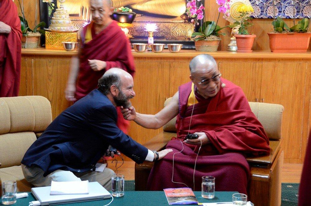 Professor Jonathan Patz & Dalai Lama