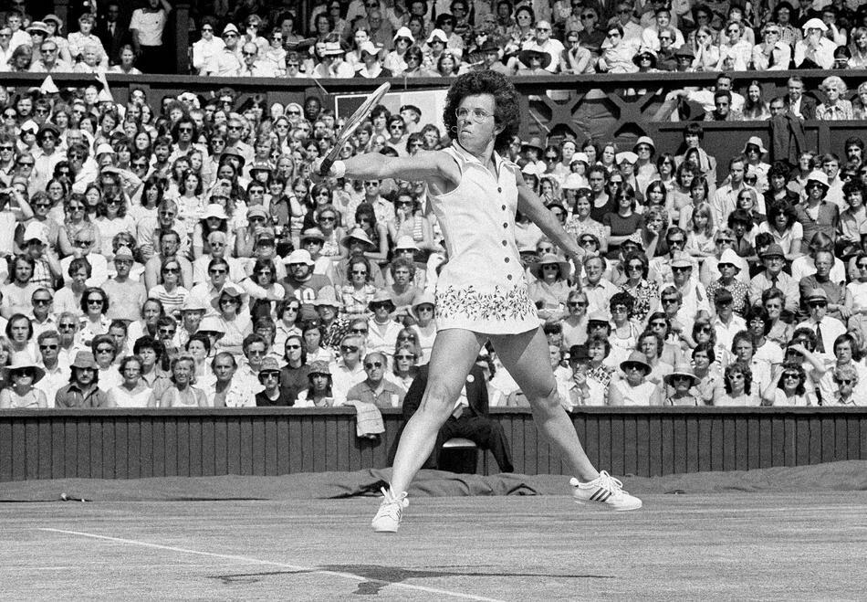 America's Billie Jean King 1975