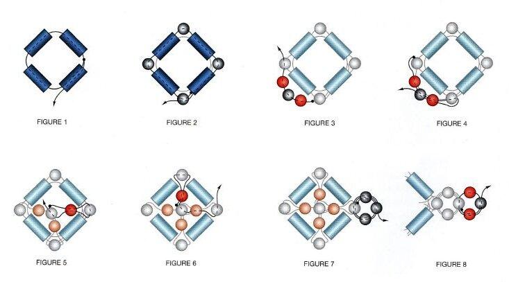 подробные схемы плетения цветов из бисера - Это бисер!