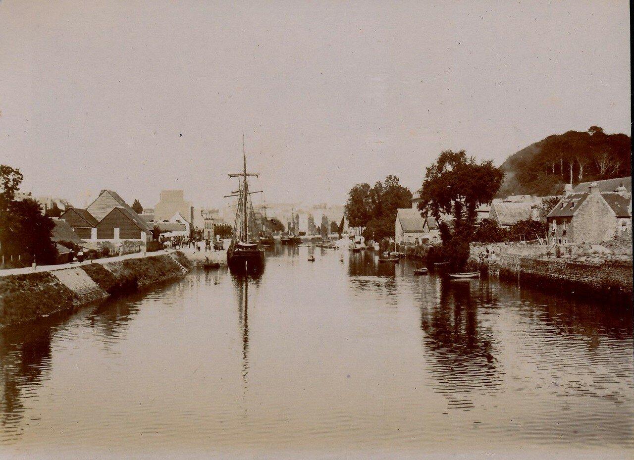 1900. Кемпер. Порт
