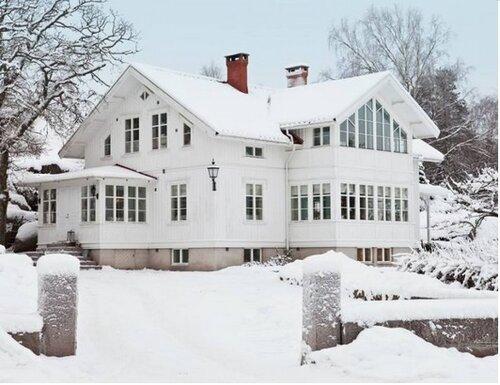 белые дома
