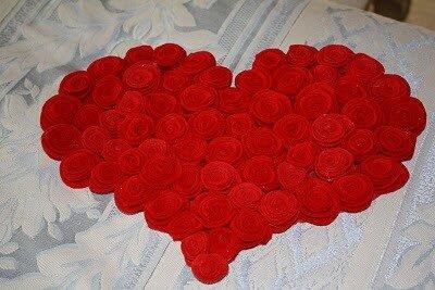 поделки валентинов день