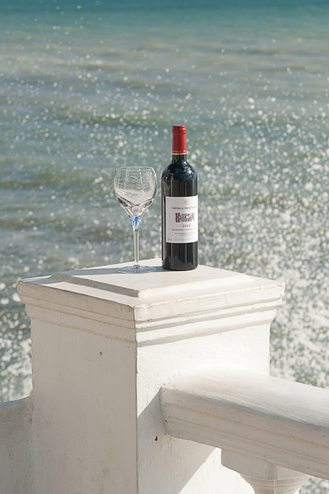 фотосъемка рекламы. бутылки вина