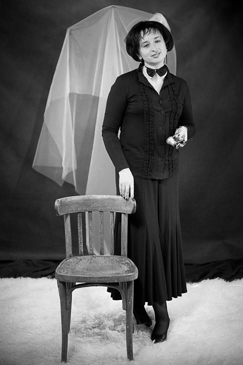 портреты блогеров. черно-белые фото
