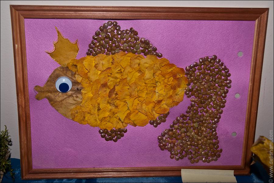 Поделки своими руками из природных материалов золотая осень