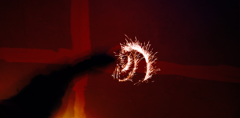 фото бенгальских огней