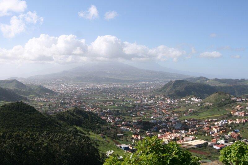 Тенерифе, горы Анага, мирадор Де Хардина