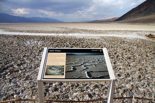 пустыня Badwater