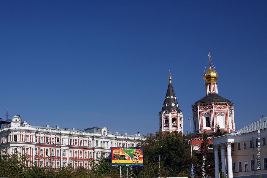 Управление Приволжской железной дороги, Троицкий собор
