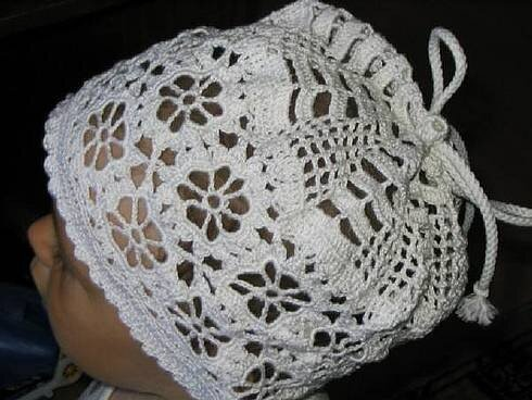 схема вязания крючком шапки из норки.  Автор:Admin.