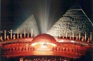 Опера Аида у подножия пирамид