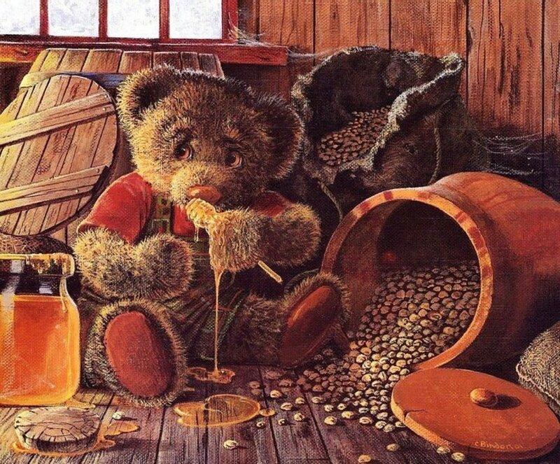 Из жизни плюшевых медведей.