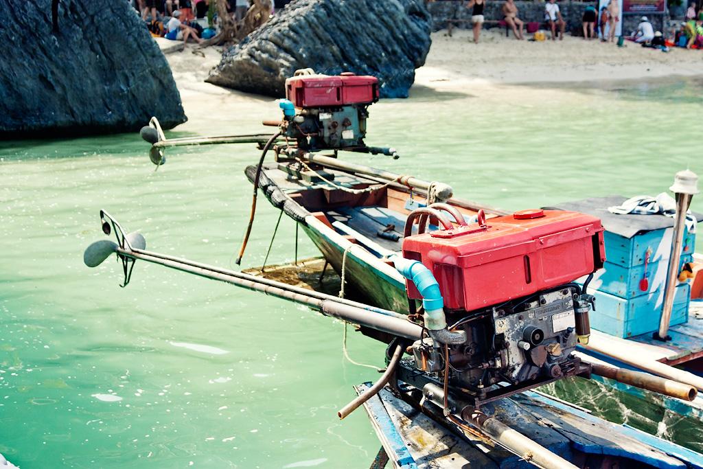 лодка в тайланде - фото 8