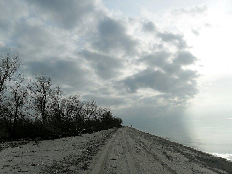 Коса, облака, путь домой