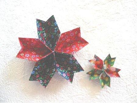 мк венок-оригами