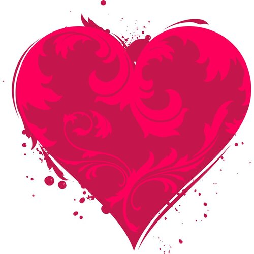 Сердечки(Валентинов день,вектор) 47