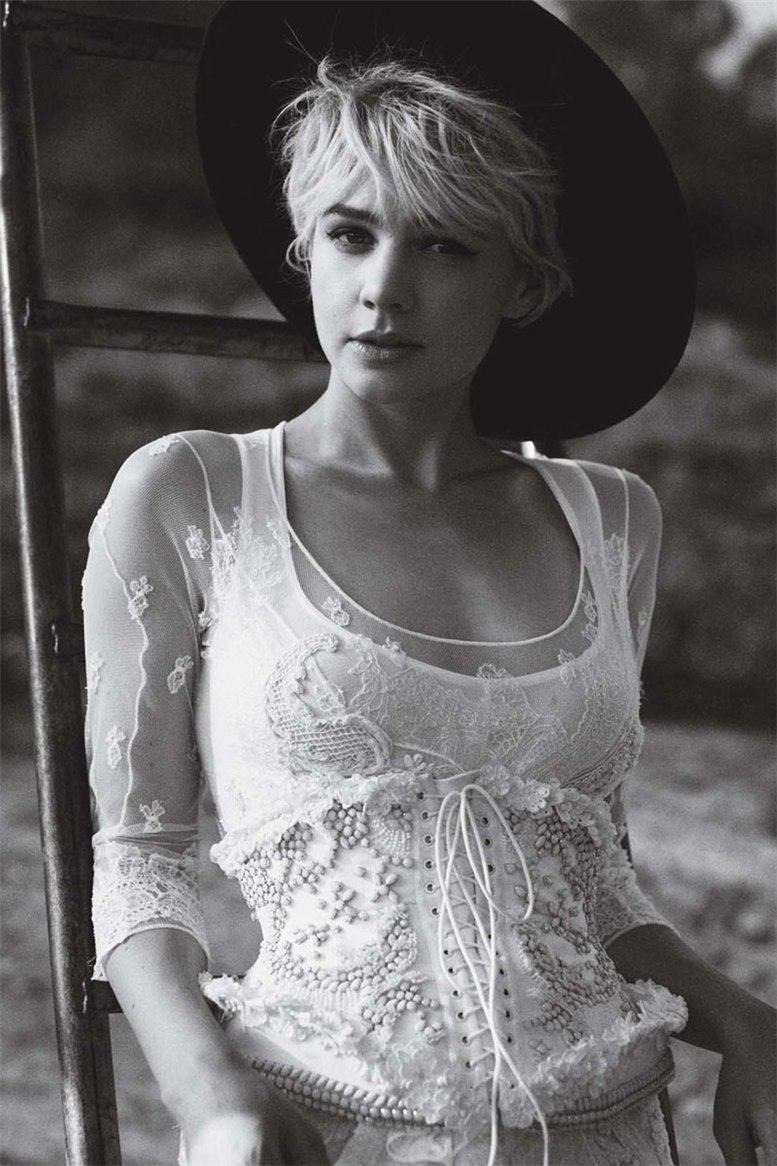 модель Кэри Маллигэн / Carey Mulligan, фотограф Peter Lindbergh