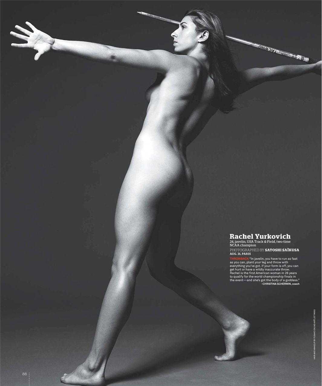 Рэйчел Юркович / Rachel Yurkovich - ESPN Magazine Body Issue 18 october 2010