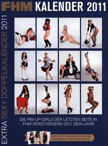 Календарь на 2011 год журнала FHM Germany - calendar
