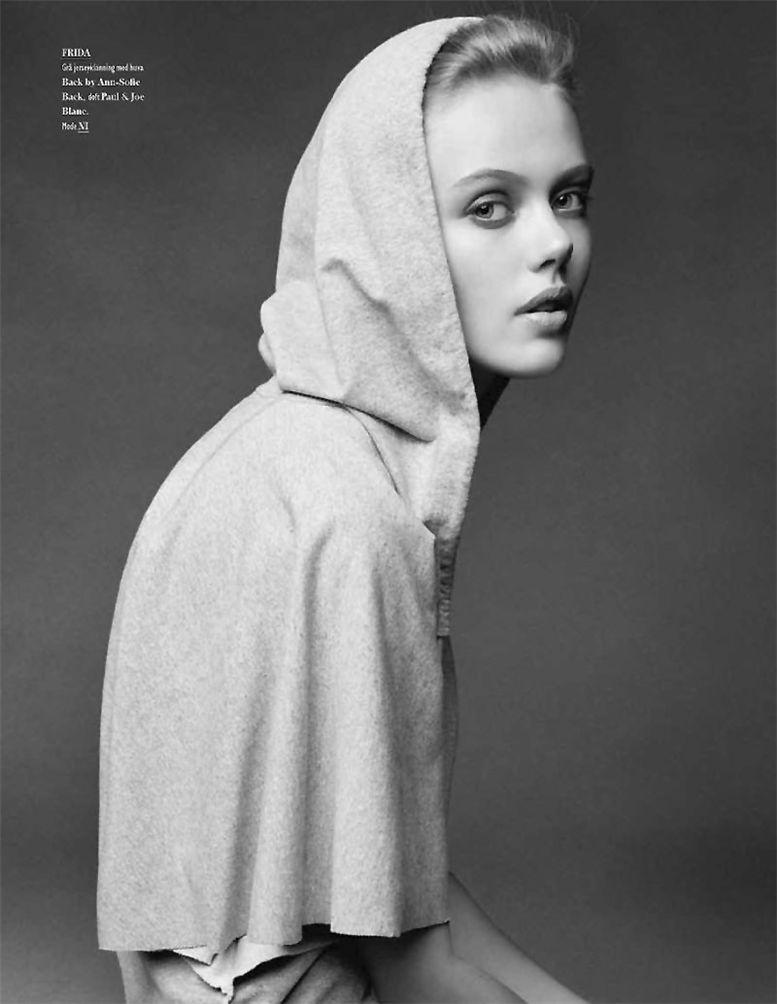 модель Фрида Густафссон / Frida Gustavsson, фотограф Hasse Nielsen
