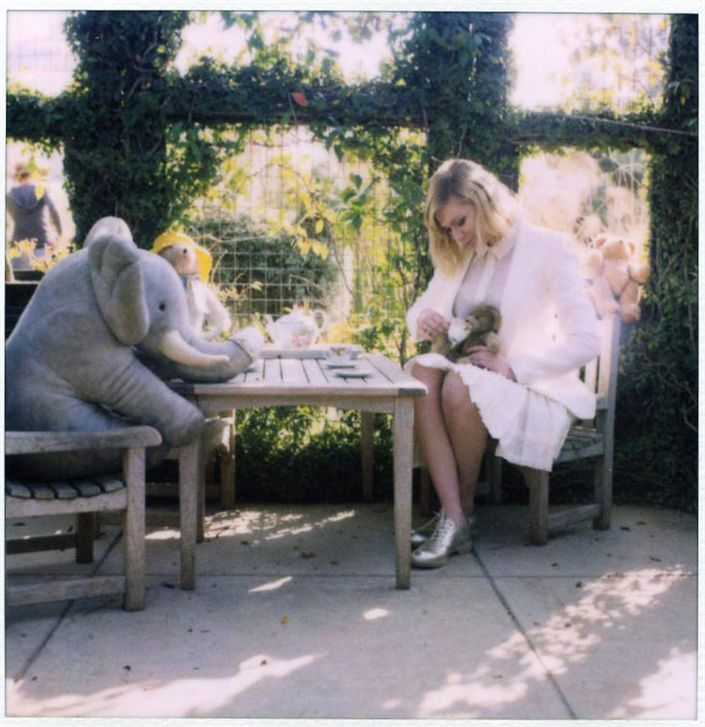 Кирстен Данст / Kirsten Dunst for Band of Outsiders spring 2011