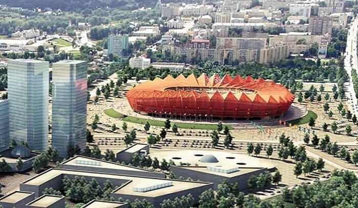 Стадион в Саранске к Чемпионату Мира 2018
