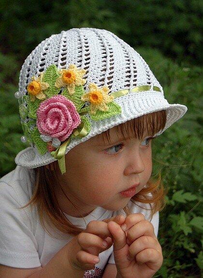 Метки. на Яндекс.Фотках.  Весна, лето, шляпки для девочек.