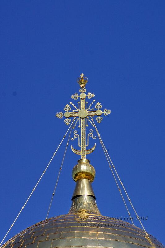 Крест на Соборе Рождества Богородицы, Свято-Пафнутиев Боровский монастырь
