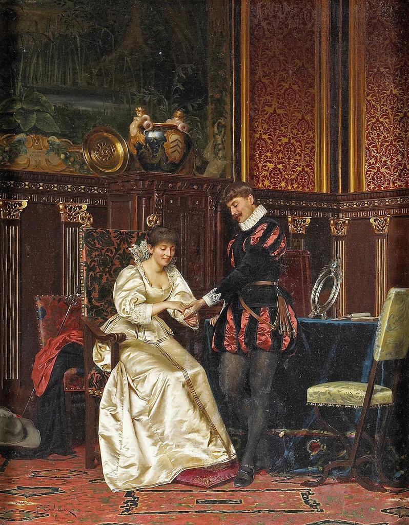 Fredric Soulacroix, 1858-1933. ...� ������� ������. 86.3 x 68 ��. ������� ���������.jpg
