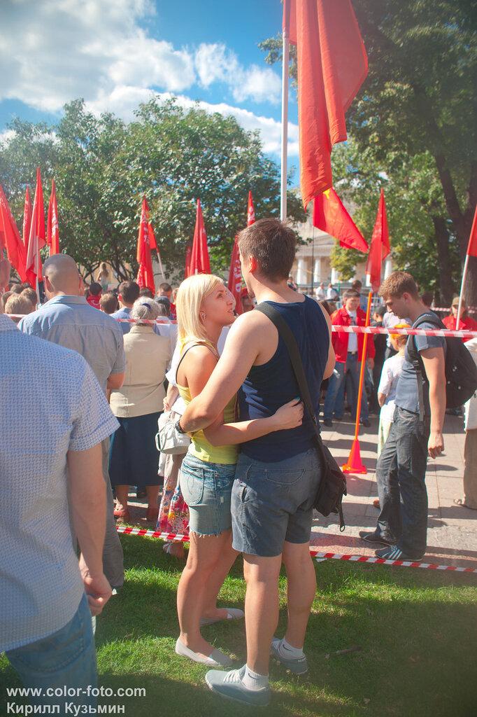 шествия и пикеты в Москве