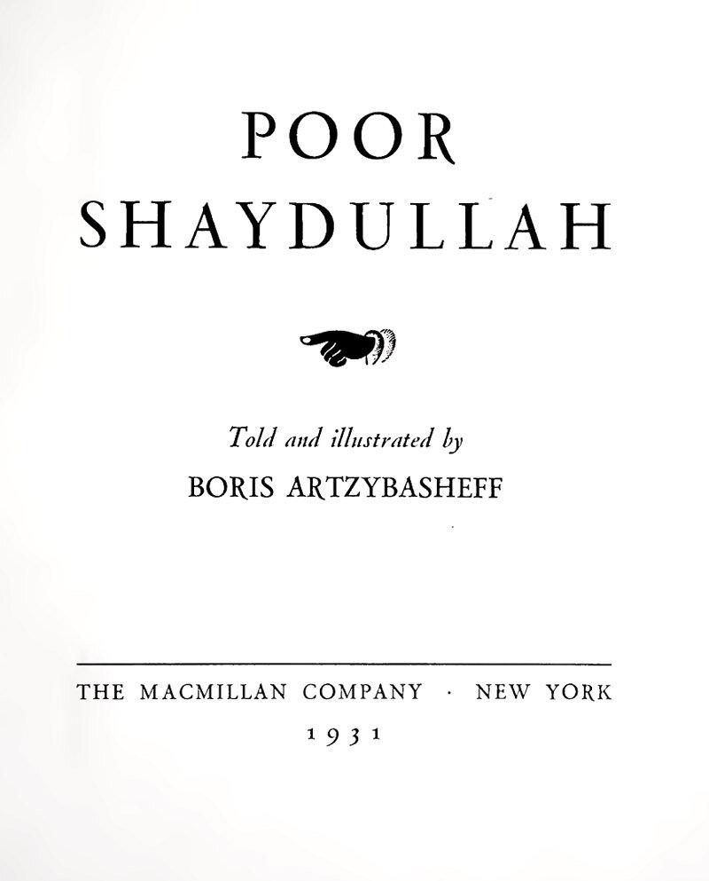 Poor Shaydullah