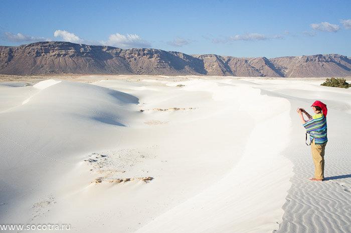 Дюны на Сокотре