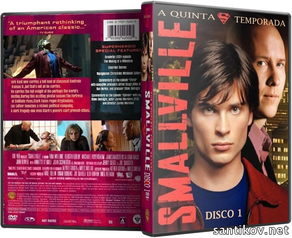 Тайны Смолвиля (1-10 сезоны: 216 серий из 216) / Smallville / 2001-2010 / ПМ (СТС) / WEB-DLRip, DVDRip, HDRip