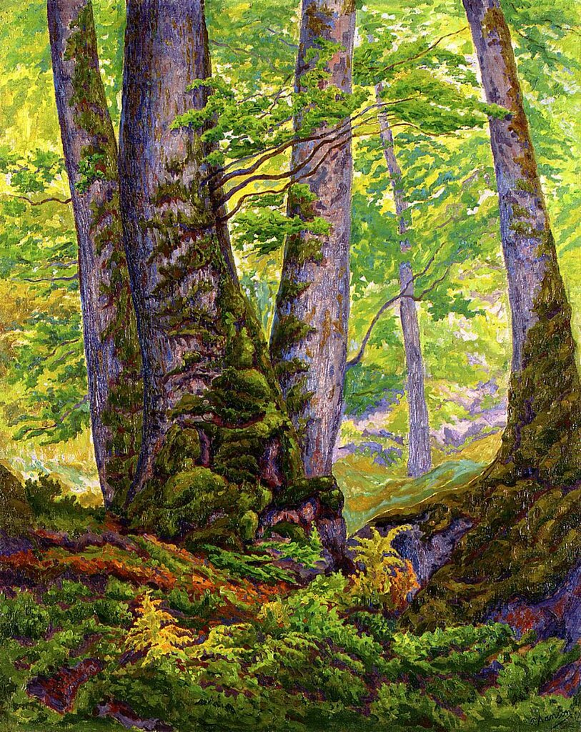 Paul Ranson - Three Beeches, 1905.jpeg