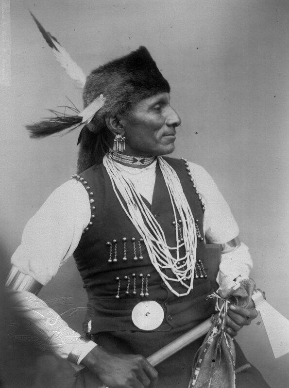Standing Bear (Montchou-Naji) Omaha sub-chief, 1883