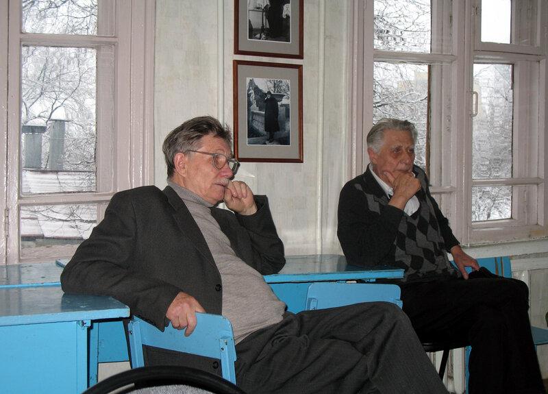 Иван Овсянников и Павел Никольский. Фото 2007 года