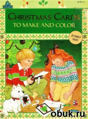 Журнал Coloring Book. Christmas Cards