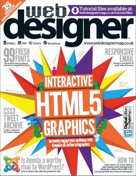 Книга Журнал: Web Designer №215 (2013) [En]