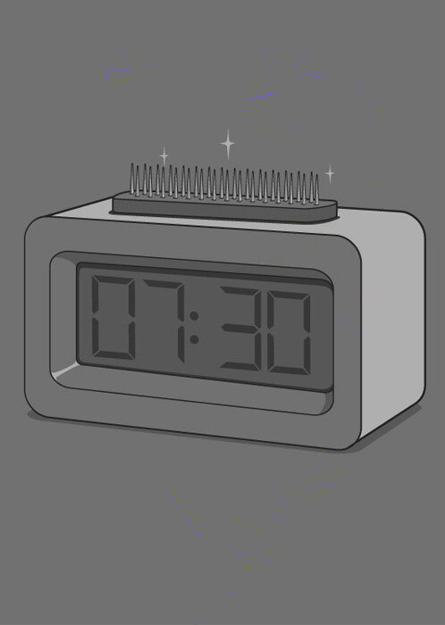 чтобы не проспать будильник